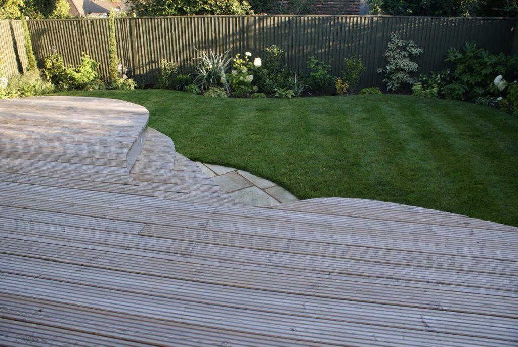 wooden planking, garden